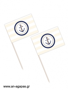 Toothpick flags Nautica