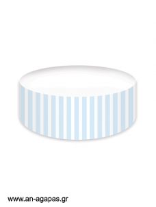 Cake banner Blue Dots & Stripes