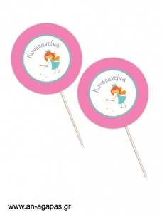 Cupcake toppers Fairy's Dust