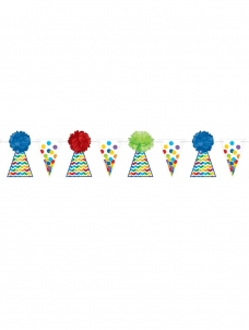 Γιρλάντα Bright Birthday Cone