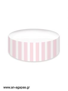 Cake banner Pink Dots & Stripes