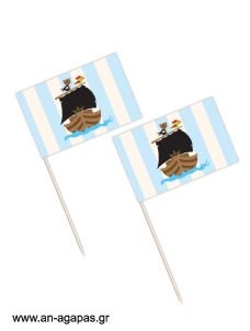 Toothpick flags Krafty Pirate