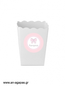 Round stickers Baby Bow