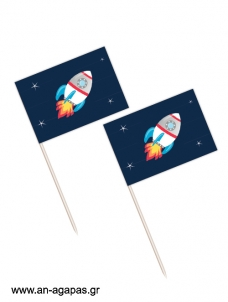 Toothpick flags Διάστημα