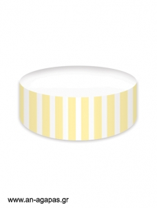 Cake banner Yellow Dots & Stripes