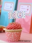 Toothpick Flags Sweet Candy Corner