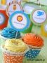 Cupcake Toppers Ζούγκλα