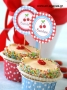 Cupcake Toppers Κερασάκια