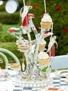 Talking Truly Alice Cupcake Stand