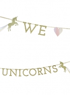 Talking Γιρλάντα We ♥ Unicorns