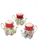 Talking Cupcake Teapot Stands