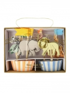 Meri Meri Cupcake Kit Safari Animals