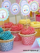 Cupcake Toppers Sweet Candy Corner