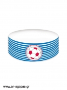 Cake banner Play Football