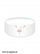 Cake banner Tropical Flamingo