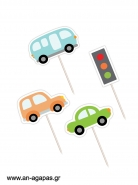 Cupcake Toppers Cars