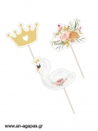Cupcake Toppers Swan