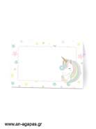 Food Labels  Pastel Unicorn
