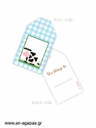 Gift tags Farm House