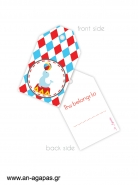 Gift tags My Baby Circus