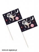 Toothpick Flags Space