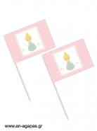 Toothpick flags Sweet Princess