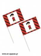 Toothpick flags Pirate Boy