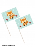 Toothpick flags Woodland Boy