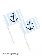Toothpick flags Navy Stuff