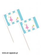 Toothpick flags Tea Girl