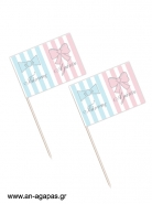 Toothpick flags Bows & Ties