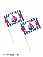 Toothpick flags Sailing