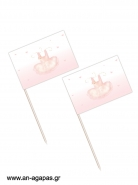 Toothpick flags Romantic Ballet