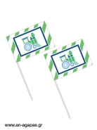 Toothpick flags Choof Choof