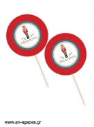 Cupcake Toppers Nutcracker